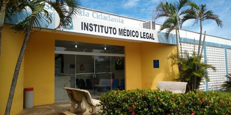 IML de Palmas — Foto: Letícia Queiroz/G1 Tocantins