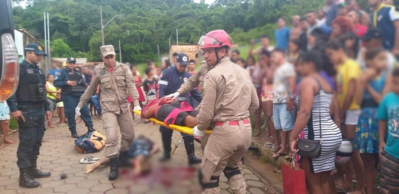 O rapaz foi alvo de emboscada junto com Tarcísio Queiroz/Foto: Ronaldo Modesto