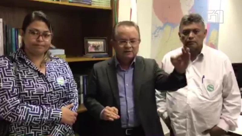 Senador Zequinha Marinho (PSC) xinga agentes do Ibama, após fiscalizações no Pará