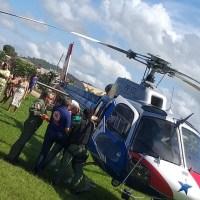 Militar vitima de acidente na Br 163 é transferido para Belém