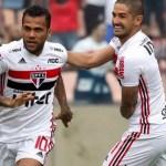 São Paulo vira em cima do Santos graças a gols de Pablo e expulsão de Jobson