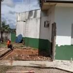 Com atividades suspensas,iniciam-se obras no Legislativo Municipal
