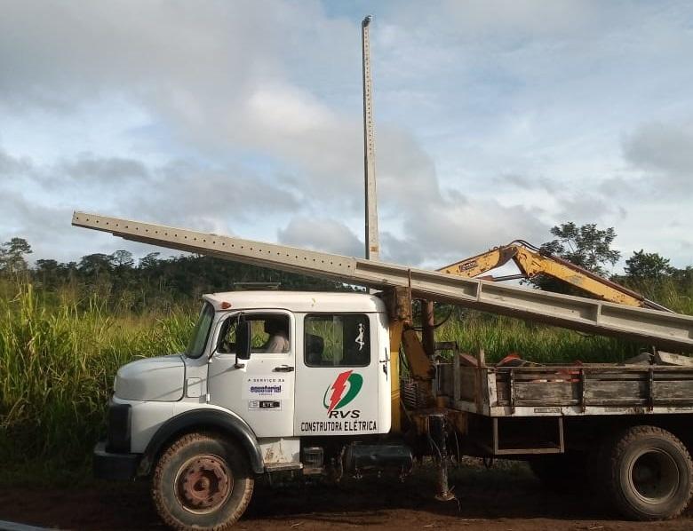 Empresa RVS no Assentamento Nova Fronteira em Novo Progresso. (Foto:WhatsApp)