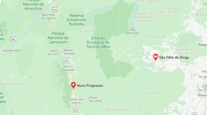 mapa np