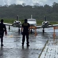 Polícia Federal prende dois homens em flagrante por tráfico internacional de drogas em Coari/AM