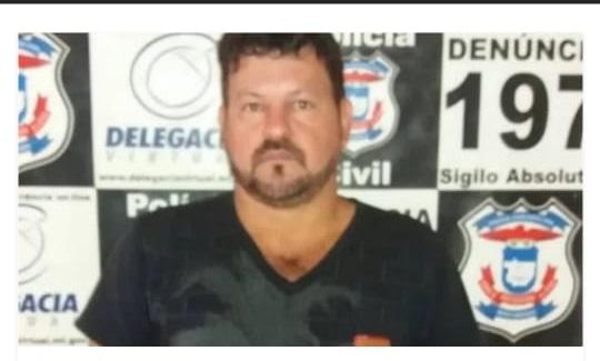 Jorge Juara foi preso em março de 2019 em Guarantã do Norte (MT), onde cumpria pena.
