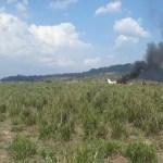 Avião cai em fazenda próximo a pista da pedreira em Novo Progresso