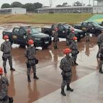 Força Nacional envia bombeiros para reforçar combate a incêndios no Pantanal em MT