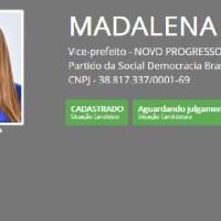 Candidata a vice do Dr Fidêncio a ex-prefeita Madalena Hoffman (PSDB) está na lista de inelegíveis do TCM para eleição de 2020