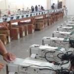 Transporte de urnas para as zonas eleitorais entra na reta final