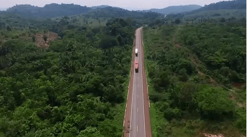 BR-163: Ministério da Infraestrutura recupera 190 km de pista no Pará