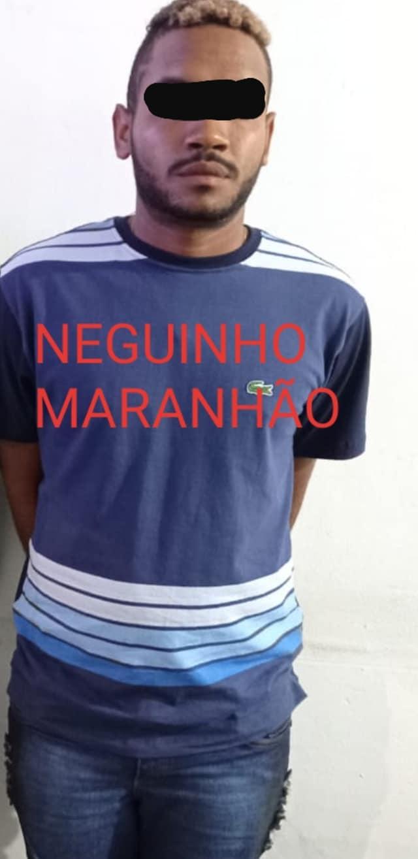 João Vitor Lourenço vulgo Maranhão foi preso na noite deste sábado (06) no bairro Jardim América em Novo Progresso.Foto: Polícia Militar do Pará