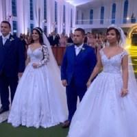 Casamento do empresário Macedo com a progressense Karine tem show pirotécnico e show de Bruno & Marrone & Jads Jadson em Novo Progresso