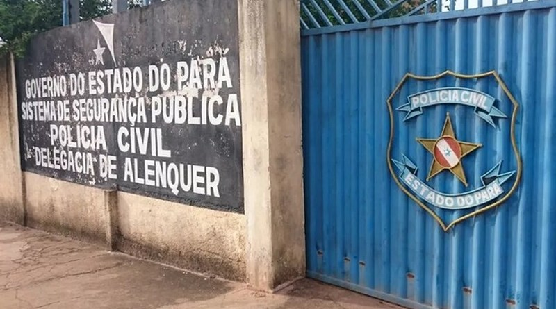 Delegacia de Polícia Civil de Alenquer — Foto: Foto: Polícia Civil/Divulgação