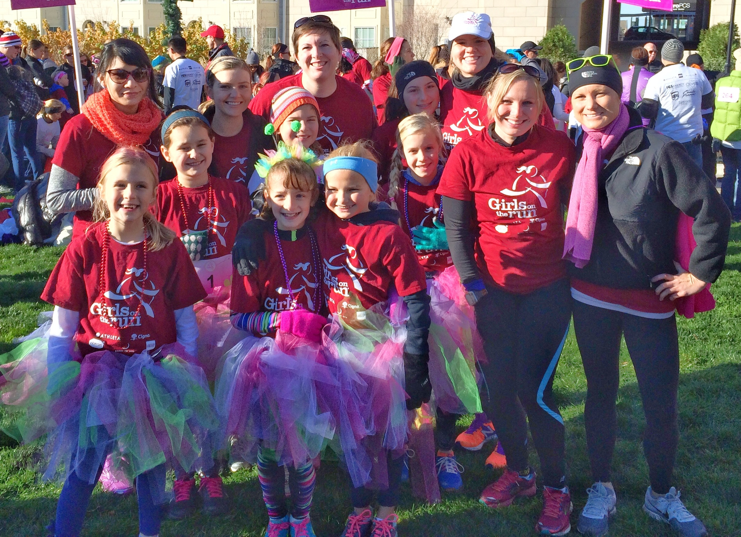 Girls on the Run Capital University team fall 2015