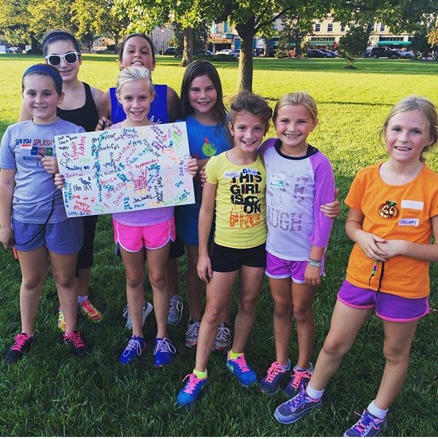 Capital University Girls on the Run team fall 2015