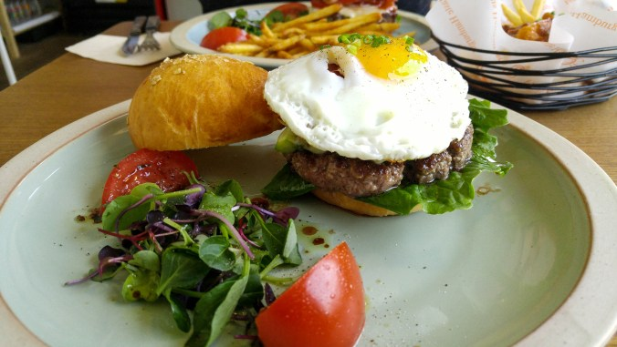 Burger French at Burger Bang in Bukchon, Seoul.