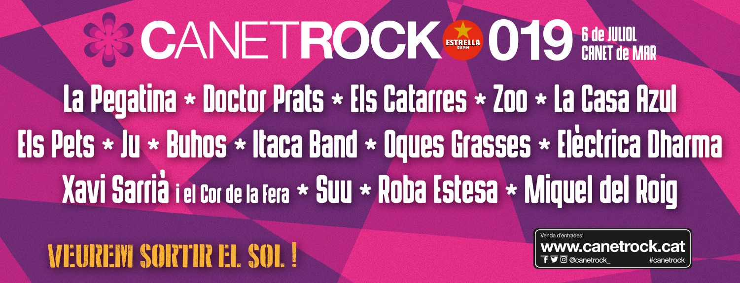 CANETROCK FESTIVAL 2019