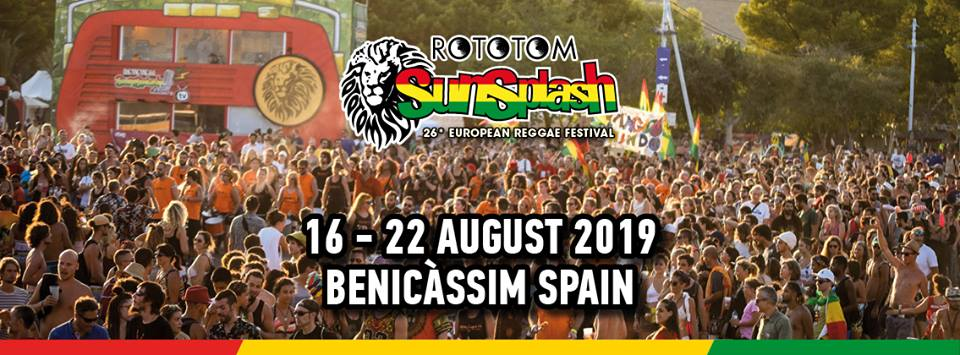 ROTOTOM SUNSPLASH 2019