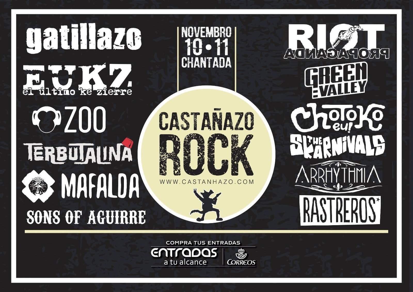 Castañazo Rock 2017
