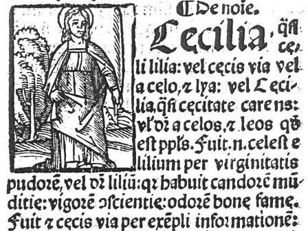 22 novembre. Santa Cecilia e le pèttule a Taranto