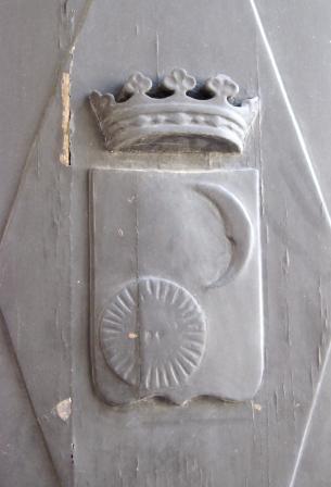 lo stemma civico di Sogliano Cavour