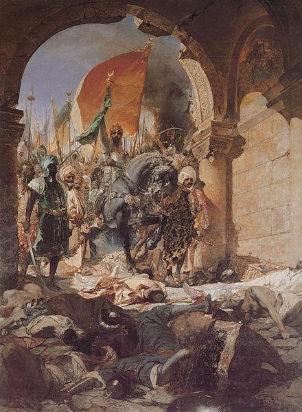 440px-Benjamin-Constant-The_Entry_of_Mahomet_II_into_Constantinople-1876