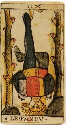 immagine tratta da http://it.wikipedia.org/wiki/File:Jean_Dodal_Tarot_trump_12.jpg