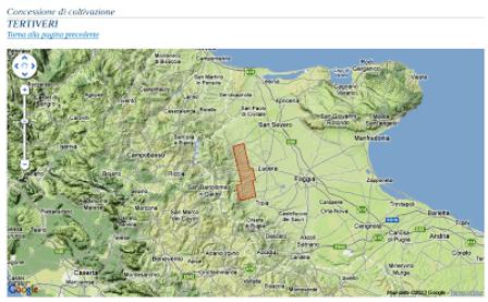 mappa fracking