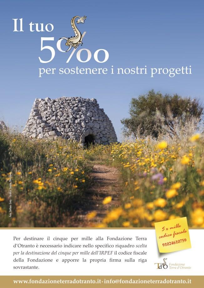 5 per mille fondazione terrad'otranto