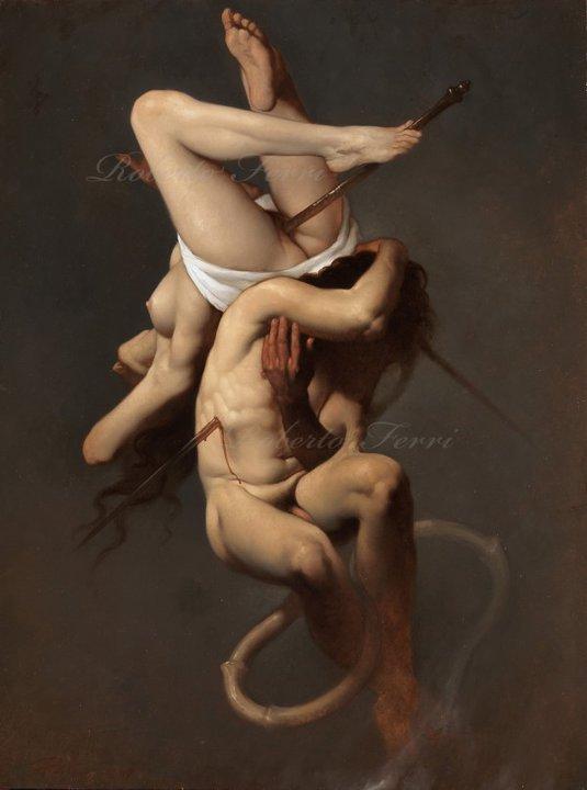 """La """"divina decadenza"""" di Roberto Ferri al Castello di Gaasbeek – Bruxelles"""