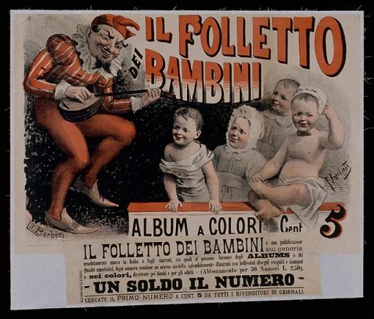 Immagine tratta da http://silos.ville-chaumont.fr/flora/jsp/index_view_direct_anonymous.jsp?record=default:UNIMARC:80314 (è la copertina del primo numero dell'album, uscito per i tipi di Edoardo Perino a Roma nel 1889)