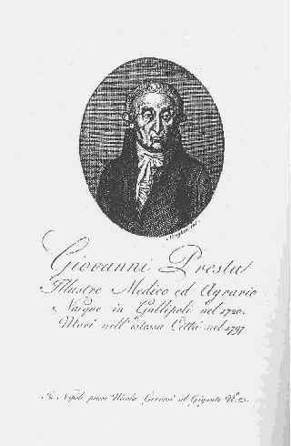Incisione tratta daLprimo volume della Biografia degli uomini illustri del Regno di Napoli, Gervasi, Napoli, 1814