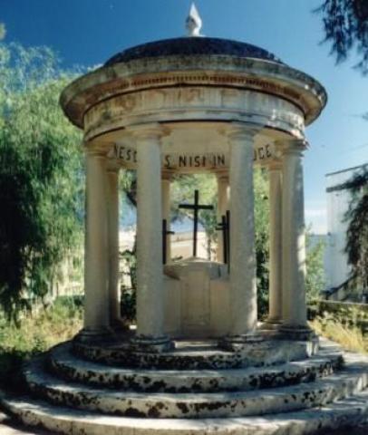 Calvario a Montesano (ph Giuseppe Corvaglia)