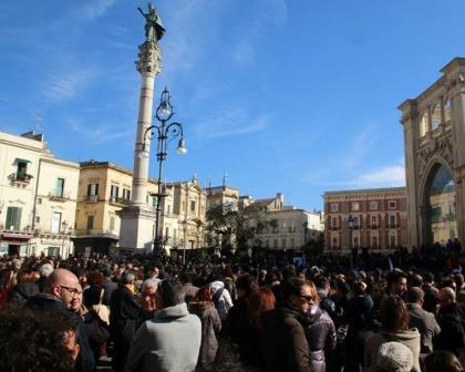 Piazza S. Oronzo, Lecce