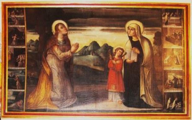 S. Maria Maddalena e s. fracesca romana - 1618