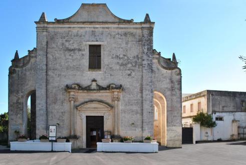 Pasano oggi: la facciata della costruzione terminata nel 1712