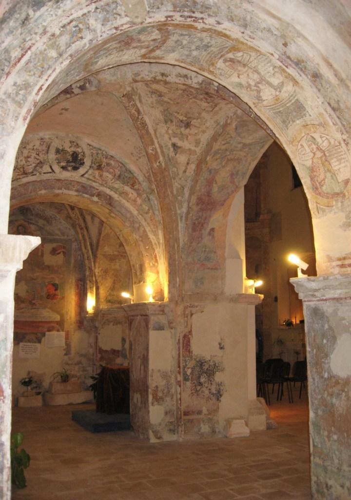 Sibille sul sottarco di S. Maria di Casole