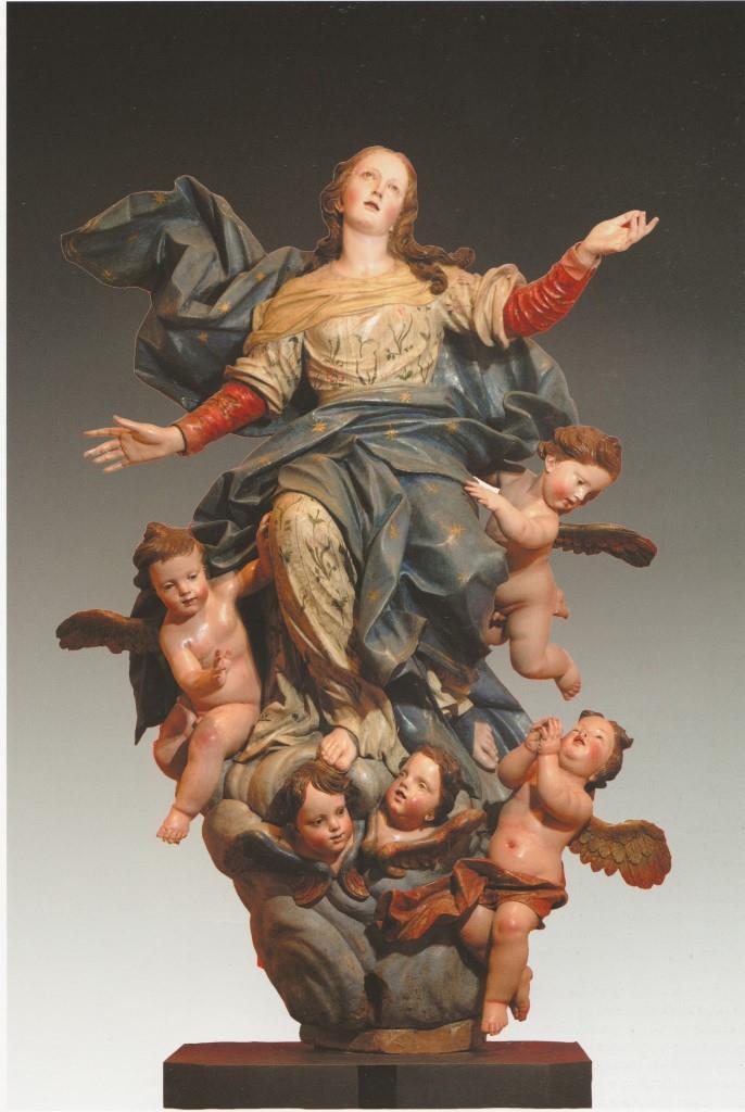 1. Nicola Fumo, Assunta, 1689. Museo diocesano, Lecce, proveniente dalla cattedrale della città.