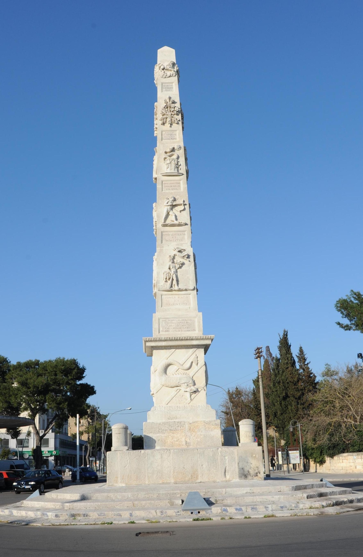 L'obelisco di Porta Napoli a Lecce (5/5)
