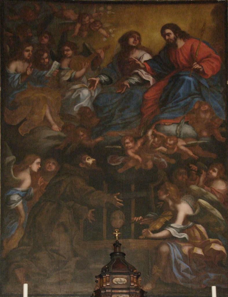 Il perdono di Assisi, di frà Angelo da Copertino, chiesa di S. Francesco d'Assisi a Nardò (ph Stefano Tanisi)