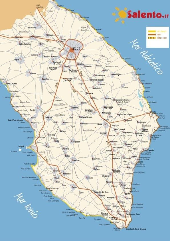 Provincia di Lecce: l'oasi perduta della sanità
