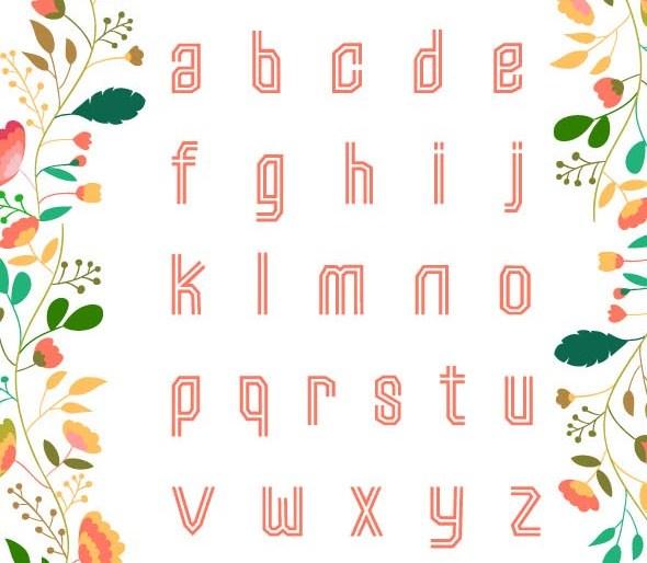 Fashionable Font