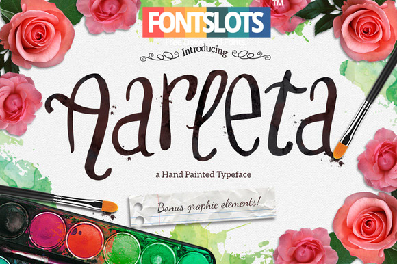 Aarleta Typeface Font