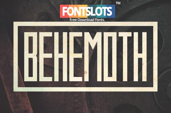 Behemoth Font