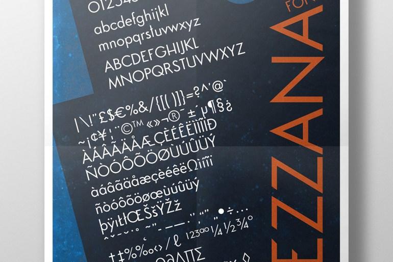 Mezzana Font