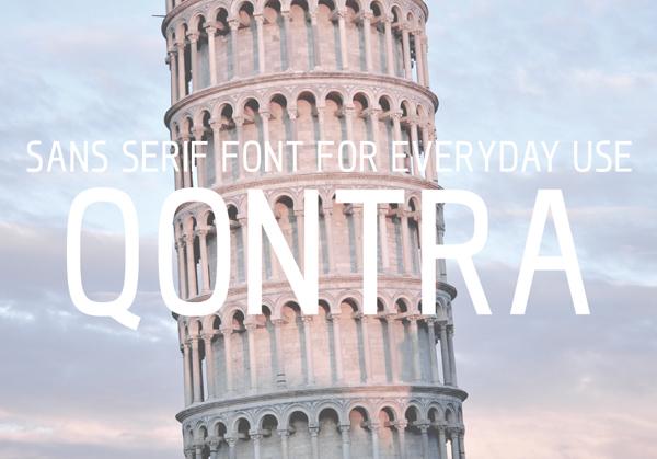 Qontra Font