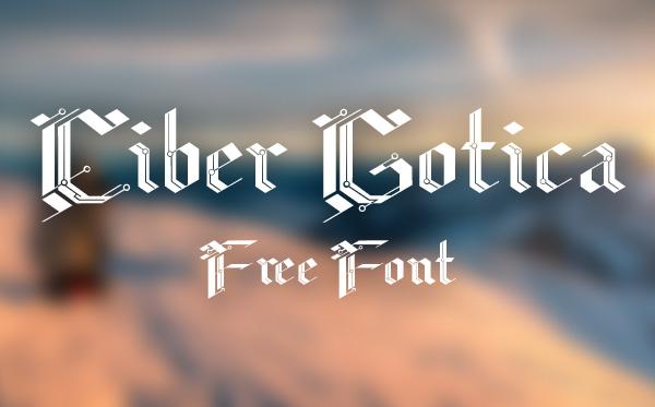 CiberGotica Font