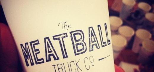Meatball Truck Logo