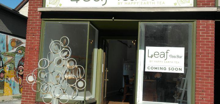 Leaf Tea Bar Front